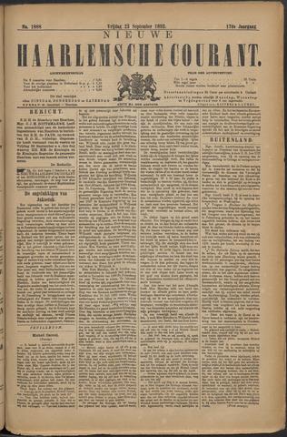 Nieuwe Haarlemsche Courant 1892-09-23