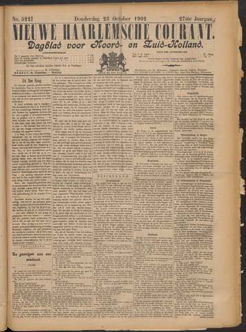Nieuwe Haarlemsche Courant 1902-10-23