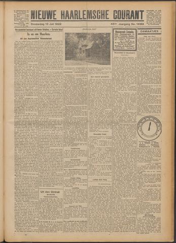 Nieuwe Haarlemsche Courant 1922-07-13