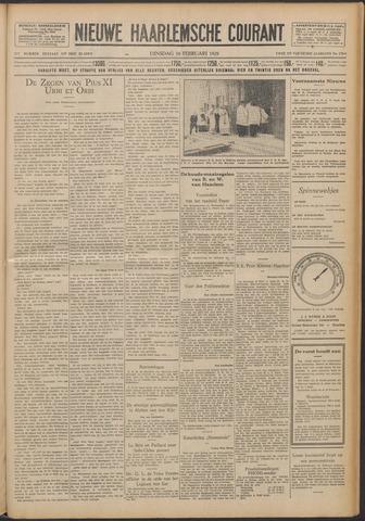 Nieuwe Haarlemsche Courant 1929-02-19