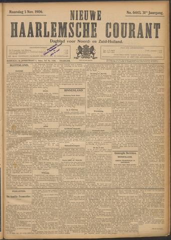 Nieuwe Haarlemsche Courant 1906-11-05