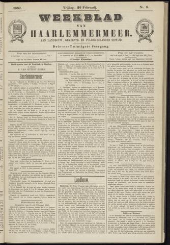 Weekblad van Haarlemmermeer 1882-02-24