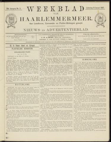 Weekblad van Haarlemmermeer 1887-01-15