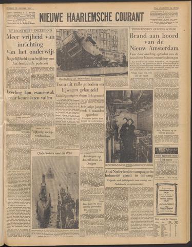 Nieuwe Haarlemsche Courant 1957-10-22