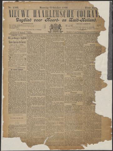 Nieuwe Haarlemsche Courant 1896-10-12
