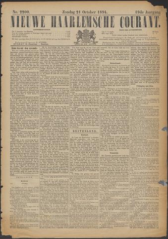 Nieuwe Haarlemsche Courant 1894-10-21