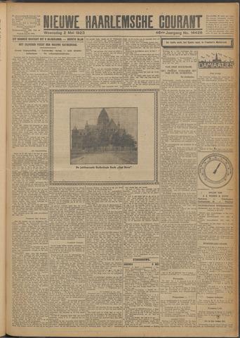 Nieuwe Haarlemsche Courant 1923-05-02