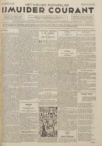 IJmuider Courant 1938-08-09