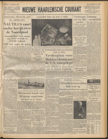 Nieuwe Haarlemsche Courant 1958-08-09