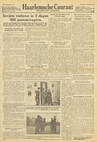 Haarlemsche Courant 1943-11-01