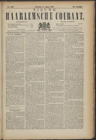 Nieuwe Haarlemsche Courant 1891-01-21