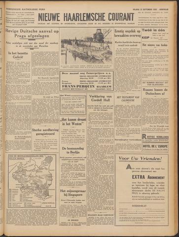 Nieuwe Haarlemsche Courant 1939-09-22