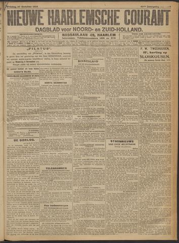Nieuwe Haarlemsche Courant 1916-10-27