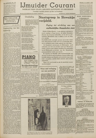 IJmuider Courant 1939-03-10