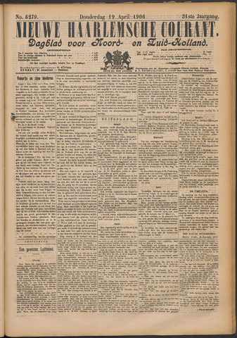 Nieuwe Haarlemsche Courant 1906-04-19