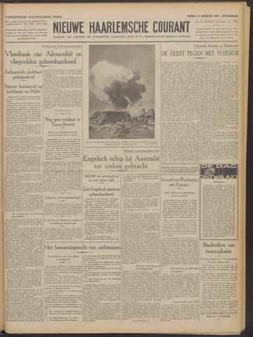 Nieuwe Haarlemsche Courant 1940-08-25