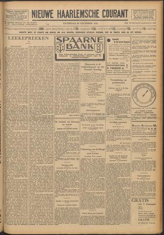 Nieuwe Haarlemsche Courant 1930-12-20