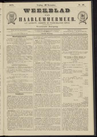 Weekblad van Haarlemmermeer 1873-11-28
