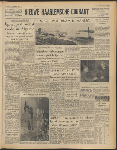 Nieuwe Haarlemsche Courant 1960-10-18