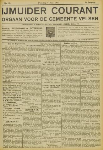 IJmuider Courant 1916-06-07