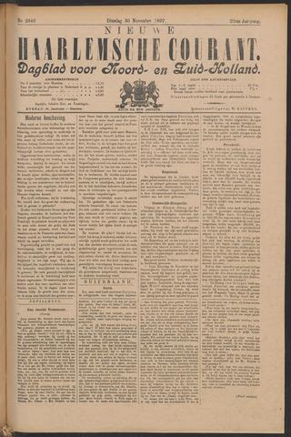 Nieuwe Haarlemsche Courant 1897-11-30