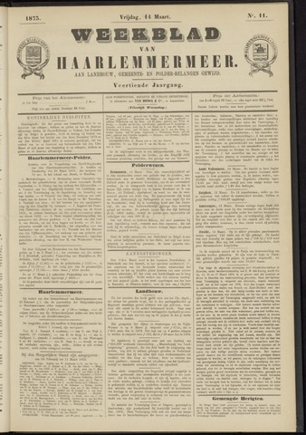 Weekblad van Haarlemmermeer 1873-03-14