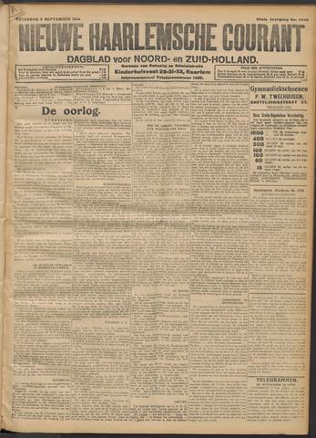 Nieuwe Haarlemsche Courant 1914-09-09