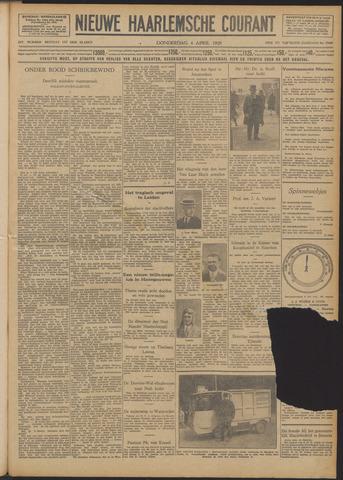 Nieuwe Haarlemsche Courant 1929-04-04