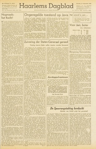 Haarlem's Dagblad 1945-09-18