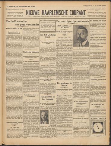 Nieuwe Haarlemsche Courant 1933-01-18