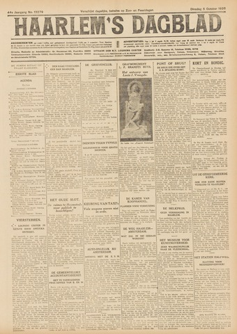 Haarlem's Dagblad 1926-10-05