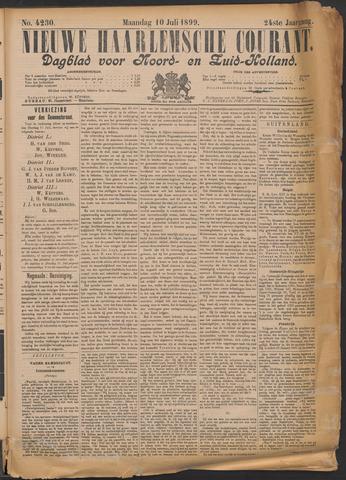 Nieuwe Haarlemsche Courant 1899-07-10