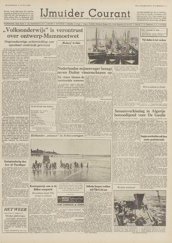 IJmuider Courant 1959-06-01