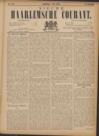Nieuwe Haarlemsche Courant 1879-05-01