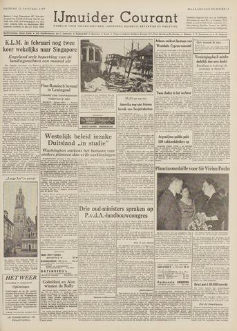 IJmuider Courant 1959-01-23