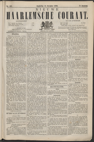 Nieuwe Haarlemsche Courant 1880-12-23