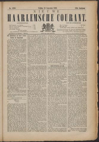 Nieuwe Haarlemsche Courant 1888-09-28