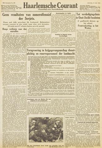 Haarlemsche Courant 1943-07-24