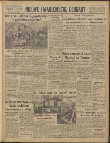 Nieuwe Haarlemsche Courant 1948-10-11