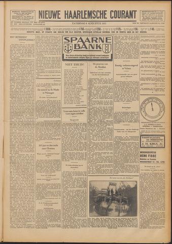 Nieuwe Haarlemsche Courant 1931-08-08