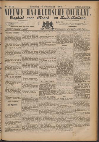 Nieuwe Haarlemsche Courant 1905-09-30