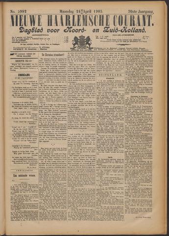 Nieuwe Haarlemsche Courant 1905-04-24