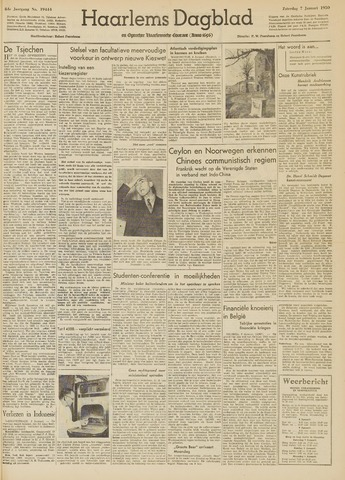 Haarlem's Dagblad 1950-01-07