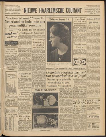 Nieuwe Haarlemsche Courant 1962-08-03