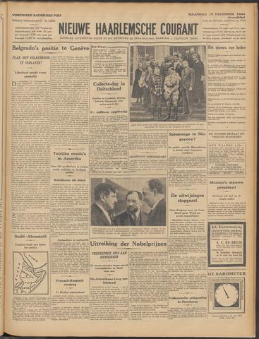 Nieuwe Haarlemsche Courant 1934-12-10