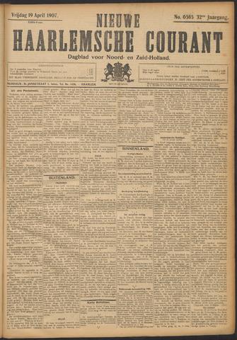 Nieuwe Haarlemsche Courant 1907-04-19
