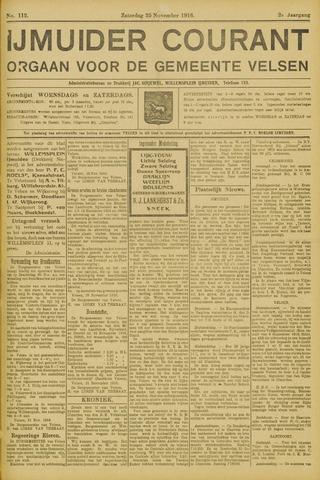 IJmuider Courant 1916-11-25