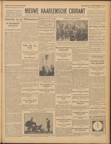 Nieuwe Haarlemsche Courant 1933-09-18