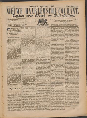 Nieuwe Haarlemsche Courant 1903-09-08