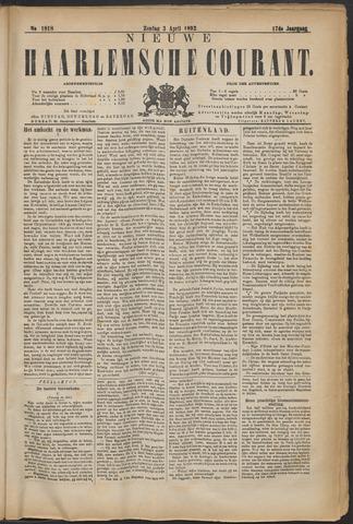 Nieuwe Haarlemsche Courant 1892-04-03